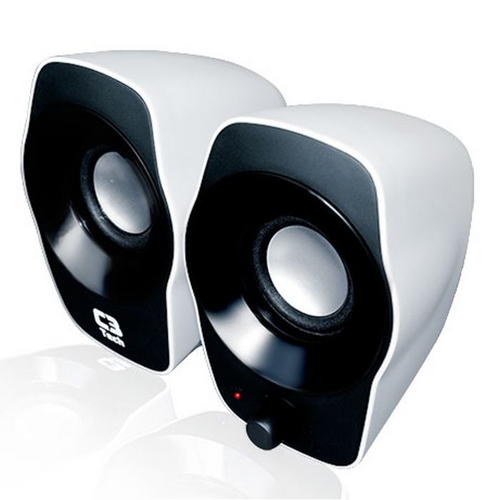 Caixa de Som Speaker 2.0 USB SP-206 BW - C3tech