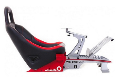 Cockpit WS One Aluminium (Black/Red) WSOA - Winseats