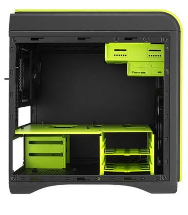 Gabinete DS Cube Green Window Edition sem Fonte EN52544 - Aerocool