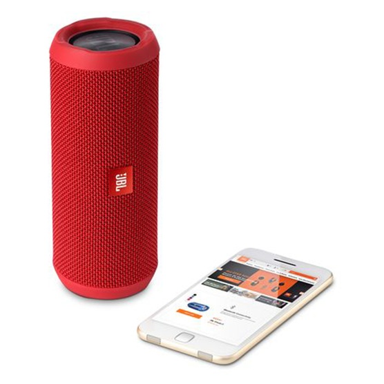 Caixa de Som Port�til FLIP 3 Bluetooth 16W RMS Vermelha JBLFLIP3RED - JBL