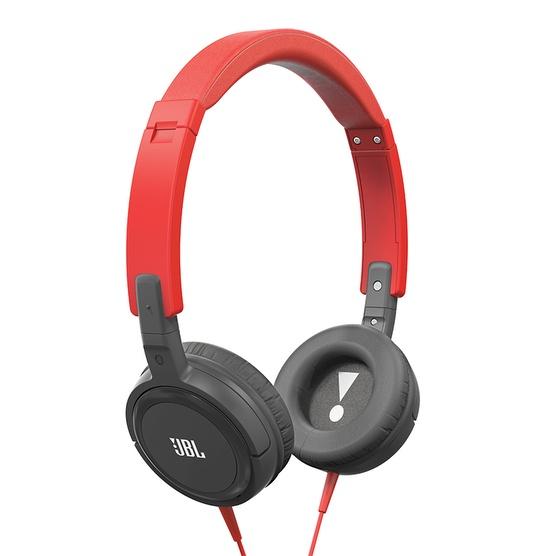 Fone de Ouvido T300A com Microfone Preto/Vermelho T300ARNG - JBL