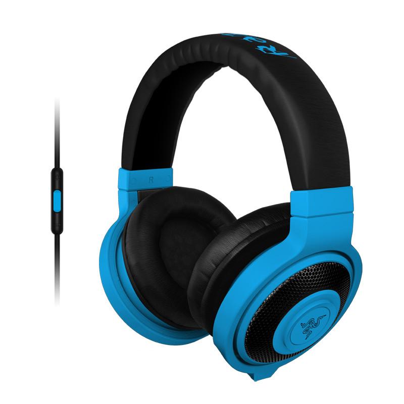 Fone de Ouvido com Microfone Kraken Pro Neon Mobile Azul RZ04-01400600-R3U1 - Razer