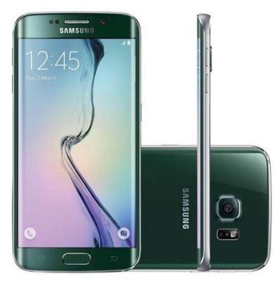 Smartphone Galaxy S6 Edge G925IZ, Octa Core, Android 5.0, Tela Super Amoled 5.1, 64GB, 16MP, 4G, Verde - Samsung