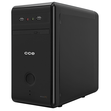 Computador MiniPC MP43L, Intel Celeron, 4GB RAM, HD 320GB, Tela 3D 15.6, Linux, Grátis Óculos 3D - CCE