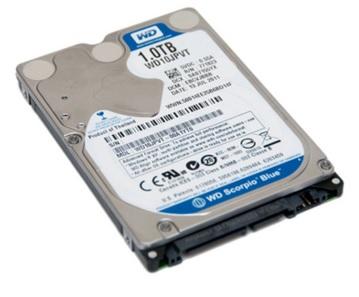 Hard Disk para Notebook 1TB 2,5 WD10JPVT - Western Digital
