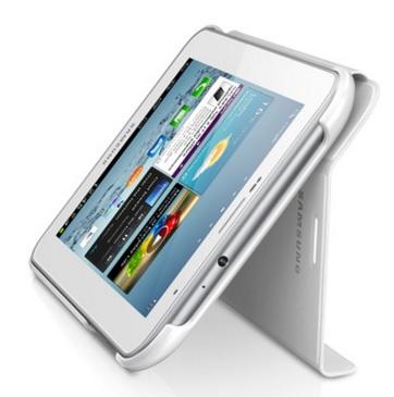 Capa Book Cover p/ Galaxy TAB 2 7.0 EFC-1G5SWECSTD Branca - Samsung