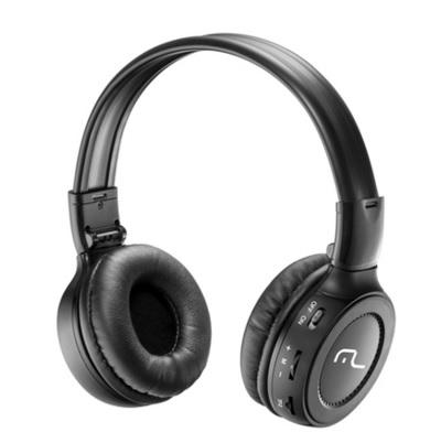 Headphone Super Bass com Microfone, R�dio FM e Entrada p/ Cart�o de Mem�ria PH111 - Multilaser