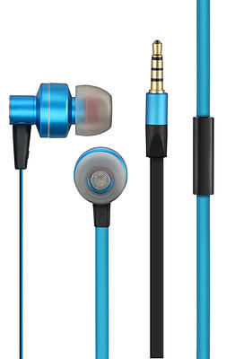 Fone de Ouvido Intra Auricular Pulse Azul/Preto PH157 - Multilaser