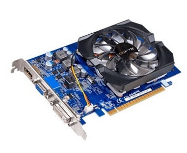 Placa de Vídeo Geforce GT420 2GB DDR3 128Bits GV-N420-2GI - Gigabyte