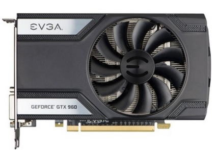 Placa de V�deo Geforce GTX960 4GB SC Gaming DDR5 128Bits 04G-P4-3962-KR - EVGA