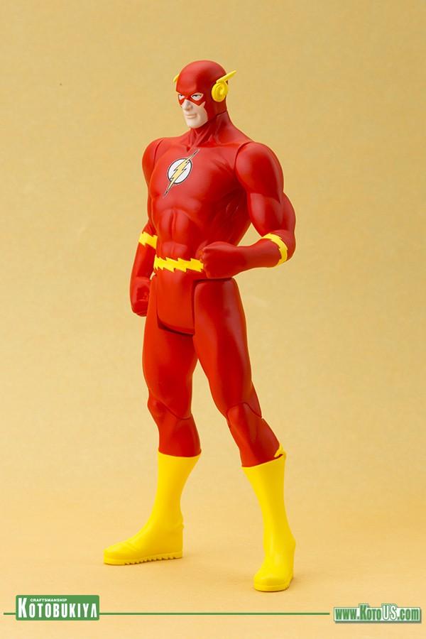 Classic Flash Super Powers - ArtFX Statue