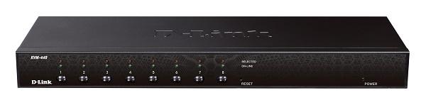 Swtich KVM 8 portas KVM-440/Z PS2/USB - Dlink