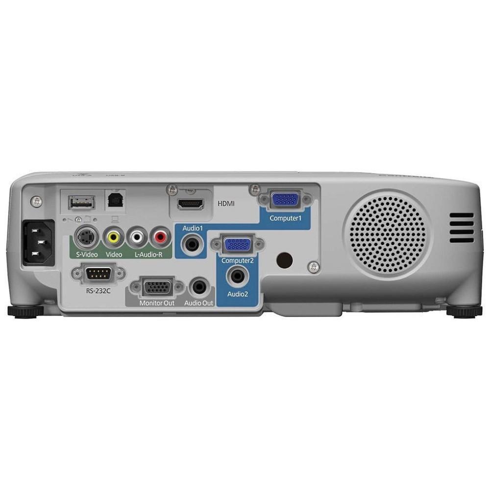 Projetor Powerlite SVGA 2700 lumens 3 LCD Bivolt S27 Branco - Epson