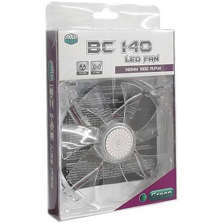 Cooler R4-BCDR-10FG-R1 140mm LED Verde 18485 - Coolermaster