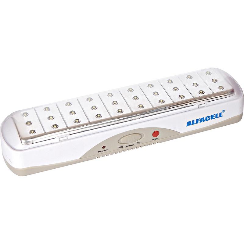 Luminária De Emergência SE5206 30 LEDs Bivolt - Alfacell