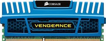 Memória Vengeance 4GB 1600MHz DDR3 Azul CMZ4GX3M1A1600C9B - Corsair