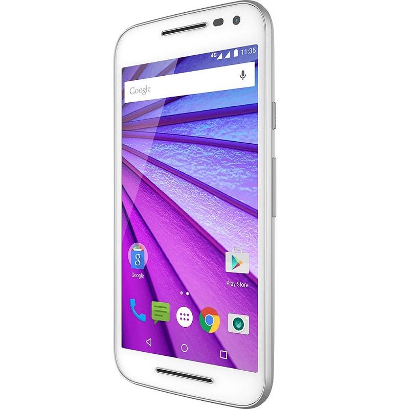 Smartphone Moto G 3 Geração Colors XT1543, Quad Core, Android 5.1.1, Tela 5.0, 16GB, 13MP, 4G,  Branco - Motorola