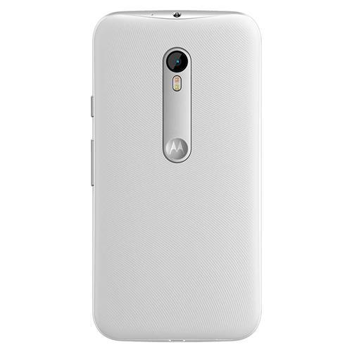 Smartphone Moto G 3ª Geração Turbo, XT1556, Dual Chip, Branco, Tela 5, 4G+WiFi, Android 5.1, 13MP, 16GB - Motorola