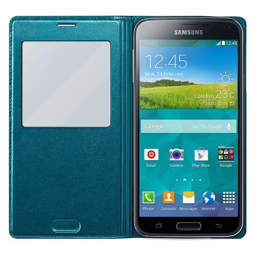 Case S View para Galaxy S5 EF-CG900BGEGBR - Samsung