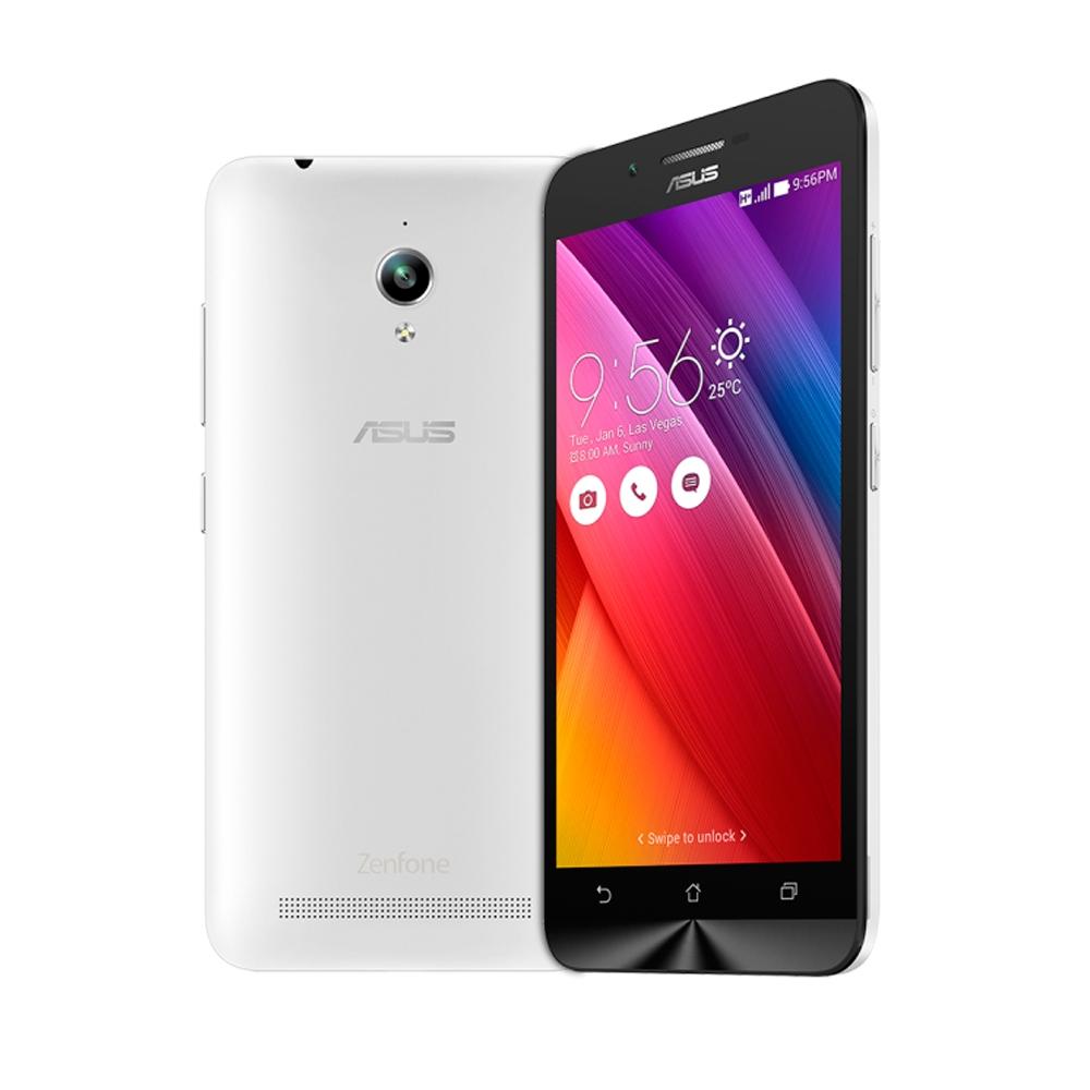 Smartphone Zenfone Go ZC500TG-1B052BR Quad Core, Android 5.1, Tela 5, 16GB, 8MP, 3G, Dual Chip Branco - Asus