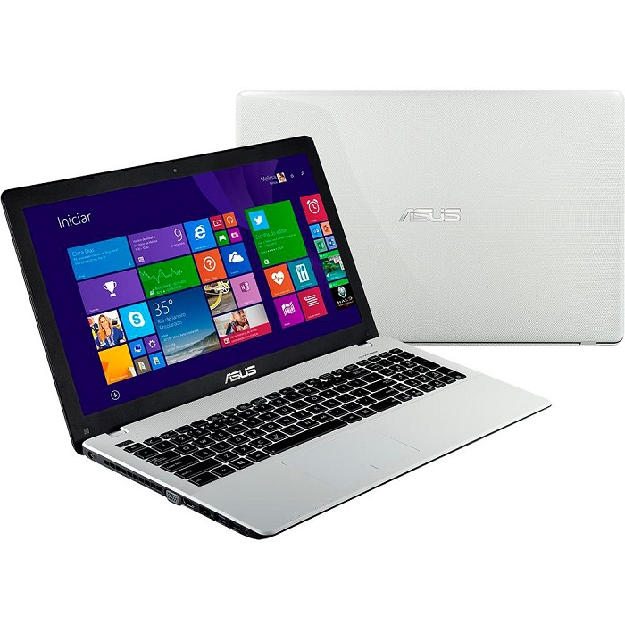 Notebook com Intel Core i3, 4GB, HD 500GB, Windows 8, Tela 15.6, Branco X550CA-XX982H - Asus