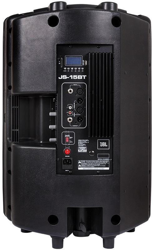 Caixa de Som Acústica Ativa Bluetooth JS-12BT 150W RMS com Player USB/Cartão SD - JBL
