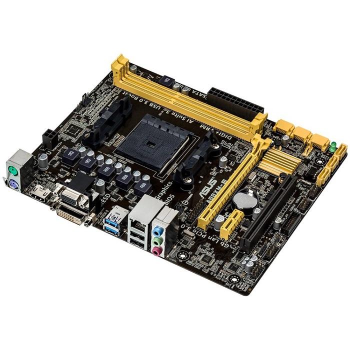 Placa Mãe FM2+ A88XM-E USB 3.0 DDR3 (S/V/R) - Asus