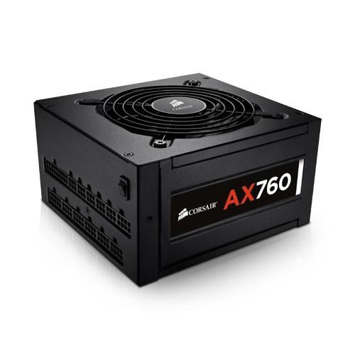 Fonte ATX 760W AX760 80 plus Platinum Modular CP-9020045-NA - Corsair