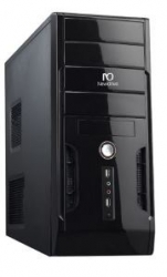Gabinete Torre USB/Audio/200W 2*Sata Black Piano PN # 2350 - Newdrive