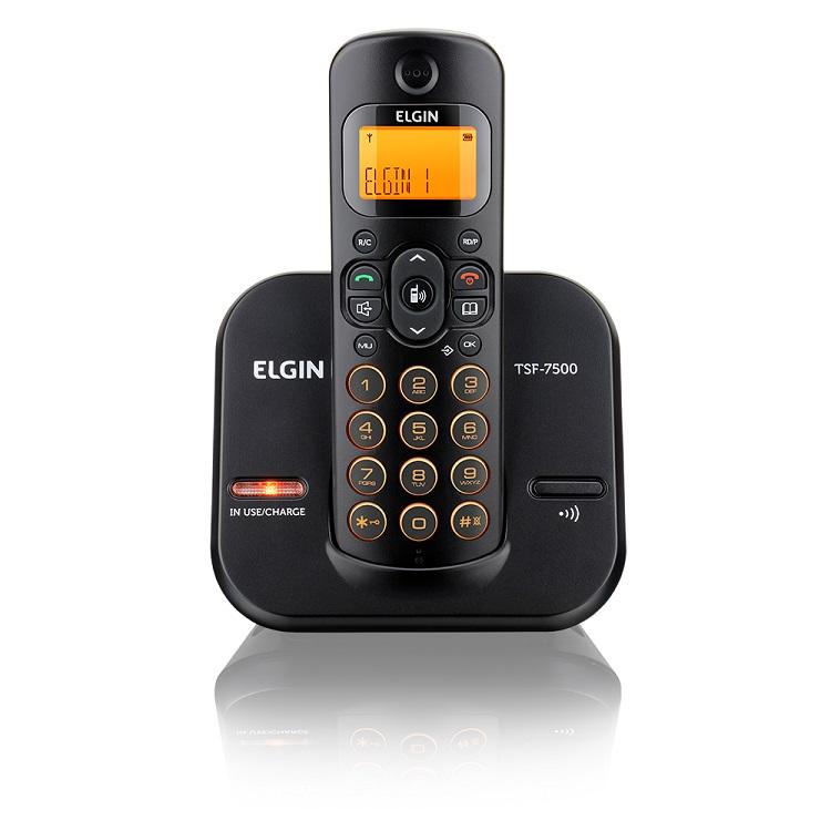 Telefone Sem Fio Com Identificador TSF7500 - Elgin