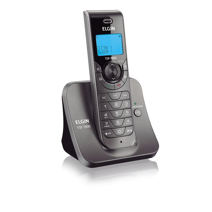 Telefone Sem Fio TSF-7800 C/Identificador de Chamada e Viva voz - Elgin