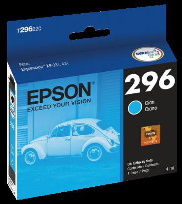 Cartucho de Tinta Ciano T296220 Compatível XP231 e XP431 - Epson