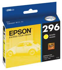 Cartucho de Tinta Amarelo T296420 Compatível XP231 e XP431 - Epson
