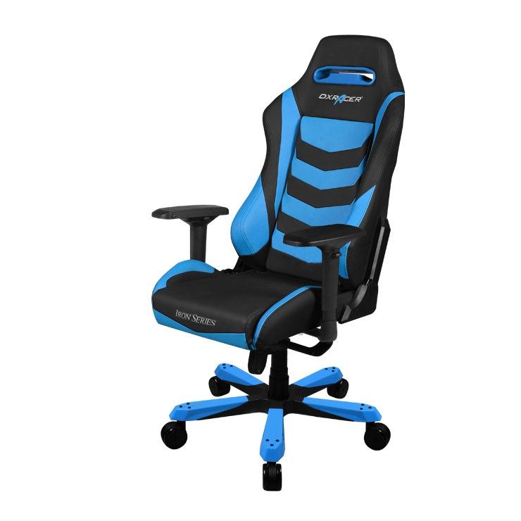 Cadeira I-Series OH/IS166/NB Preto/Azul - DXRacer