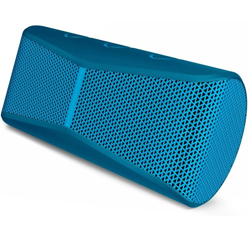 Caixa de Som Port�til Bluethooth Azul X300 - Logitech