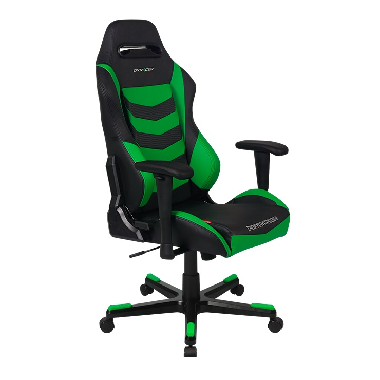 Cadeira D-Series OH/DF166/NE Preto/Verde - DXRacer