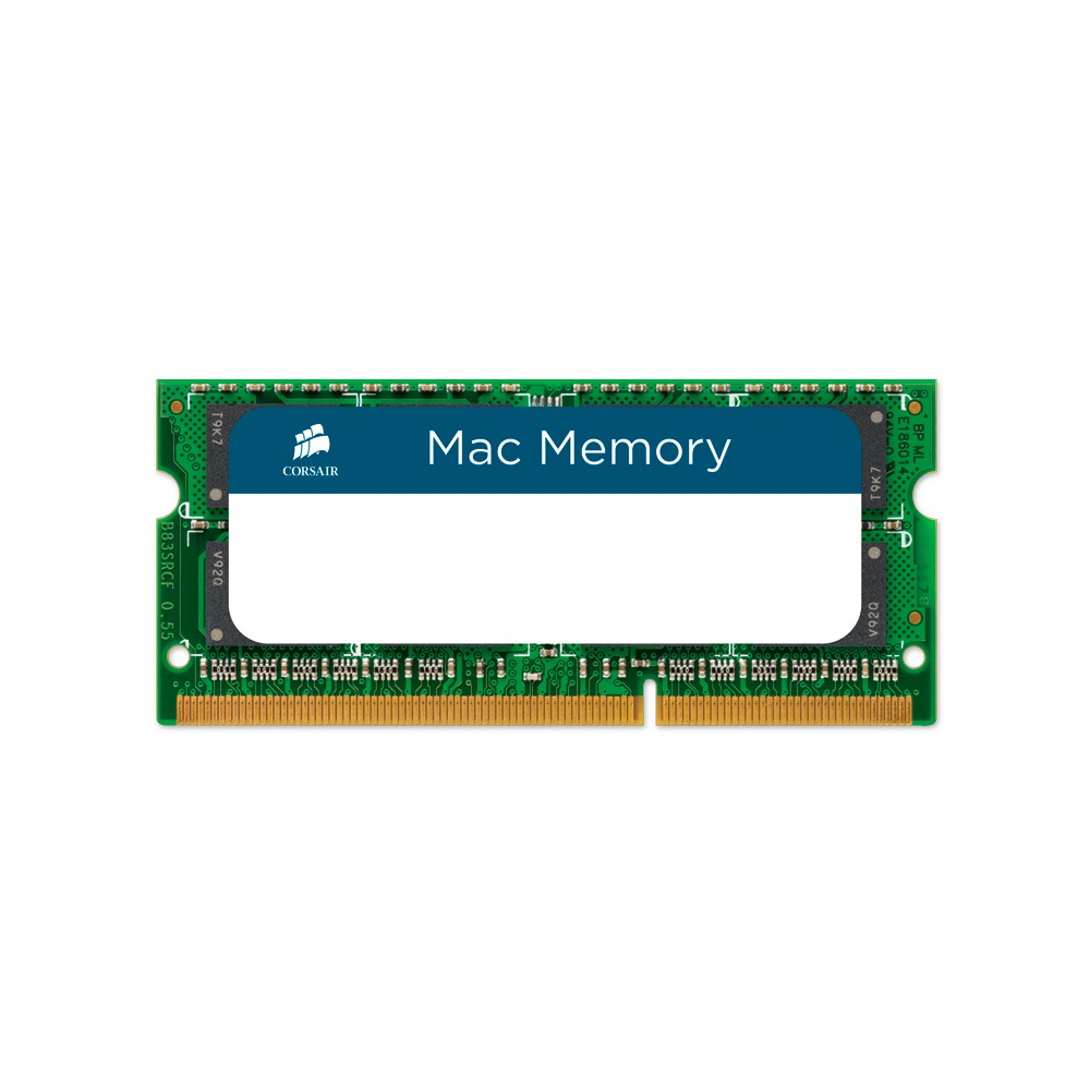 Memória para Notebook MAC 8GB 1600Mhz DDR3 CL11 CMSA8GX3M1A1600C11 - Corsair