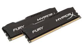 Memória Fury 8GB (2x4) 1866Mhz DDR3 Preta HX318C10FBK2/8 - Kingston