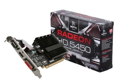 Placa de Vídeo ATI Radeon HD5450 DDR3 64Bits HD-545X-ZQH2 - XFX