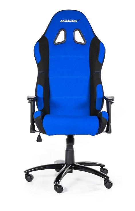 Cadeira AKRacing Prime Preto/Azul AK-K7018-BL - AKRacing