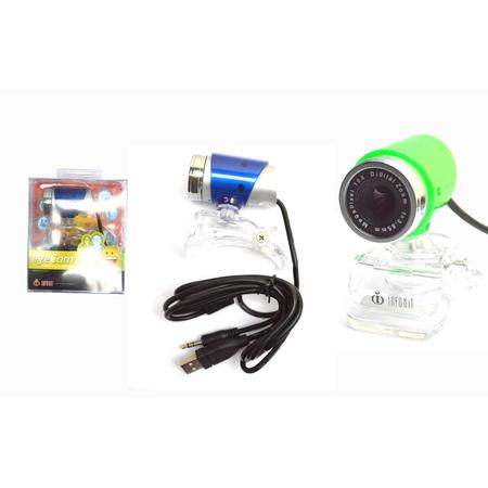 Webcam Com Microfone N-90MV WEB0014 - Infokit