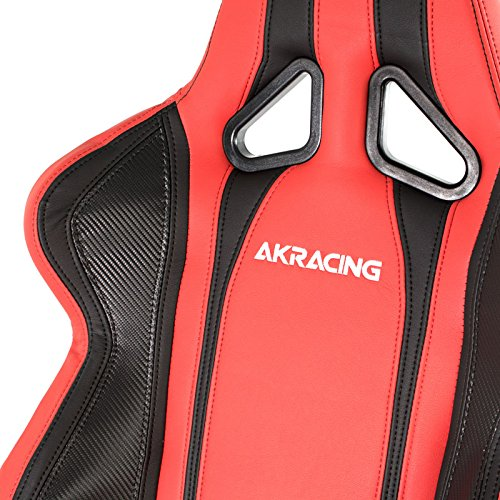 Cadeira AKRacing Inferno Black Red Carbon AK-6012-BB - AKRacing