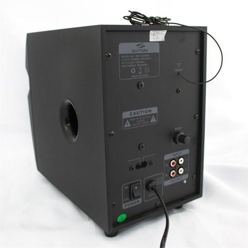 Caixa de Som Multimídia 28W RMS 2.1 Canais SM-CS3685B Preto BIVOLT - Sumay
