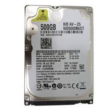 Hard Disk para Notebook WD5000BUCT 2,5 - Western Digital