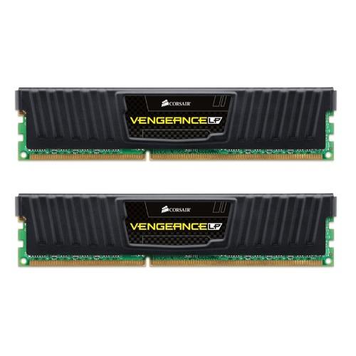 Mem�ria Vengeance LP 8GB (2x4GB) 1600Mhz DDR3 CL9 Low Profile Preto CML8GX3M2A1600C9  - Vengeance