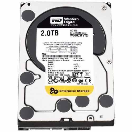 Hard Disk 2TB Sata II 64MB WD2003FYPS 7200RPM - Western Digital