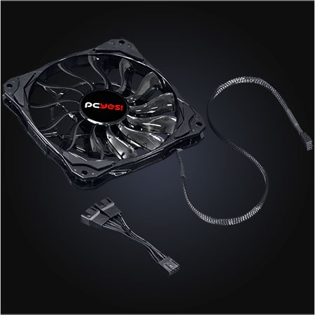 Cooler para Gabinete Fury F3 120MM Slim F3120SL - Pcyes