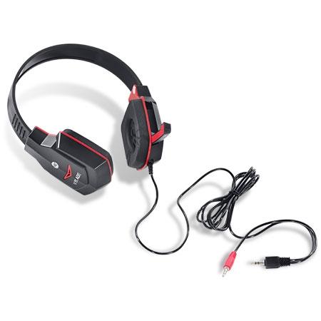 Headset Gamer V Blade Linha VX Preto e Vermelho 23650 - Vinik