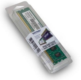 Memória de 4GB 1333Mhz DDR3 PSD34G13332 - Patriot
