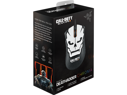 Mouse Deathadder Chroma Call of Duty: Black Ops III 10000 DPI RZ01-01210100-R3M1 - Razer